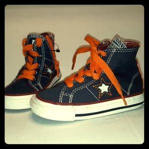 New Converse Baby Girl or Boy High top sneaker 5c